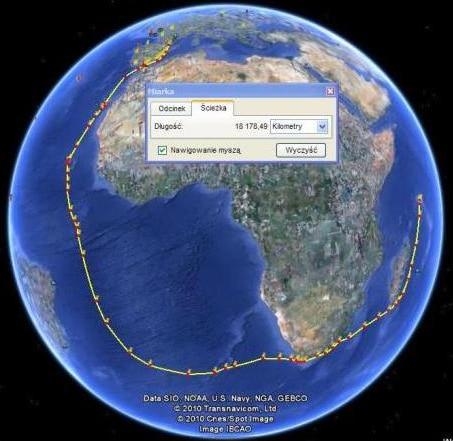 Przeprowadzanie jachtów z Francji na Seszele