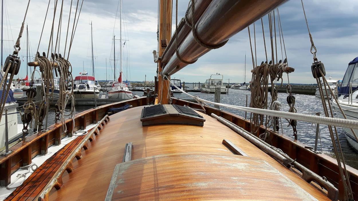 Deck jachtu Tilikum